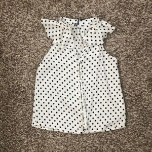 Brand new polka dot top from Anthropologie!